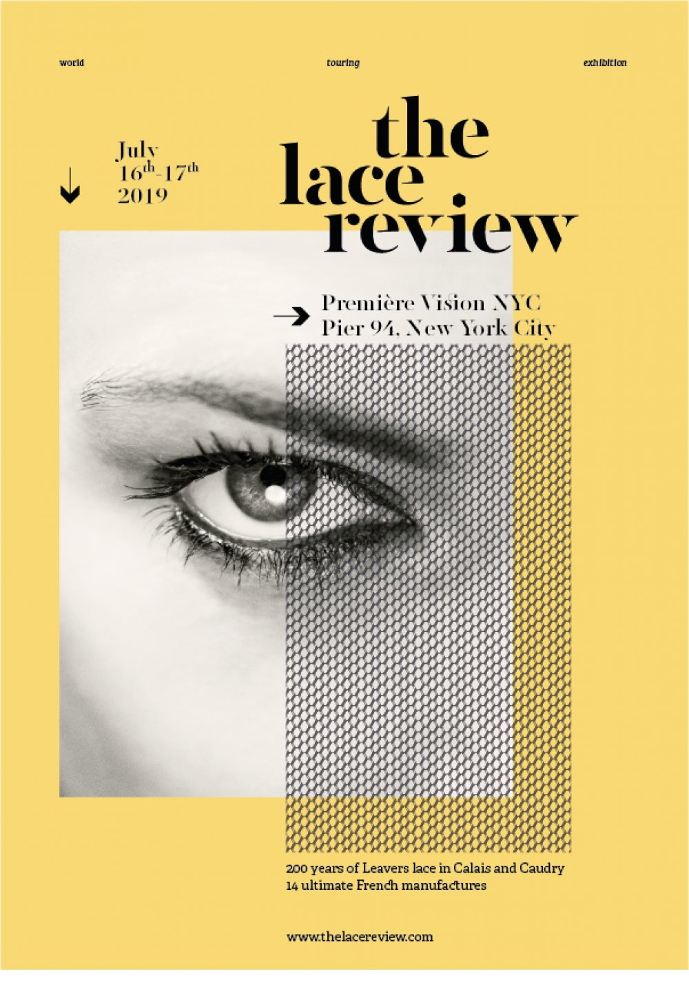 Affiche The Lace Review New York