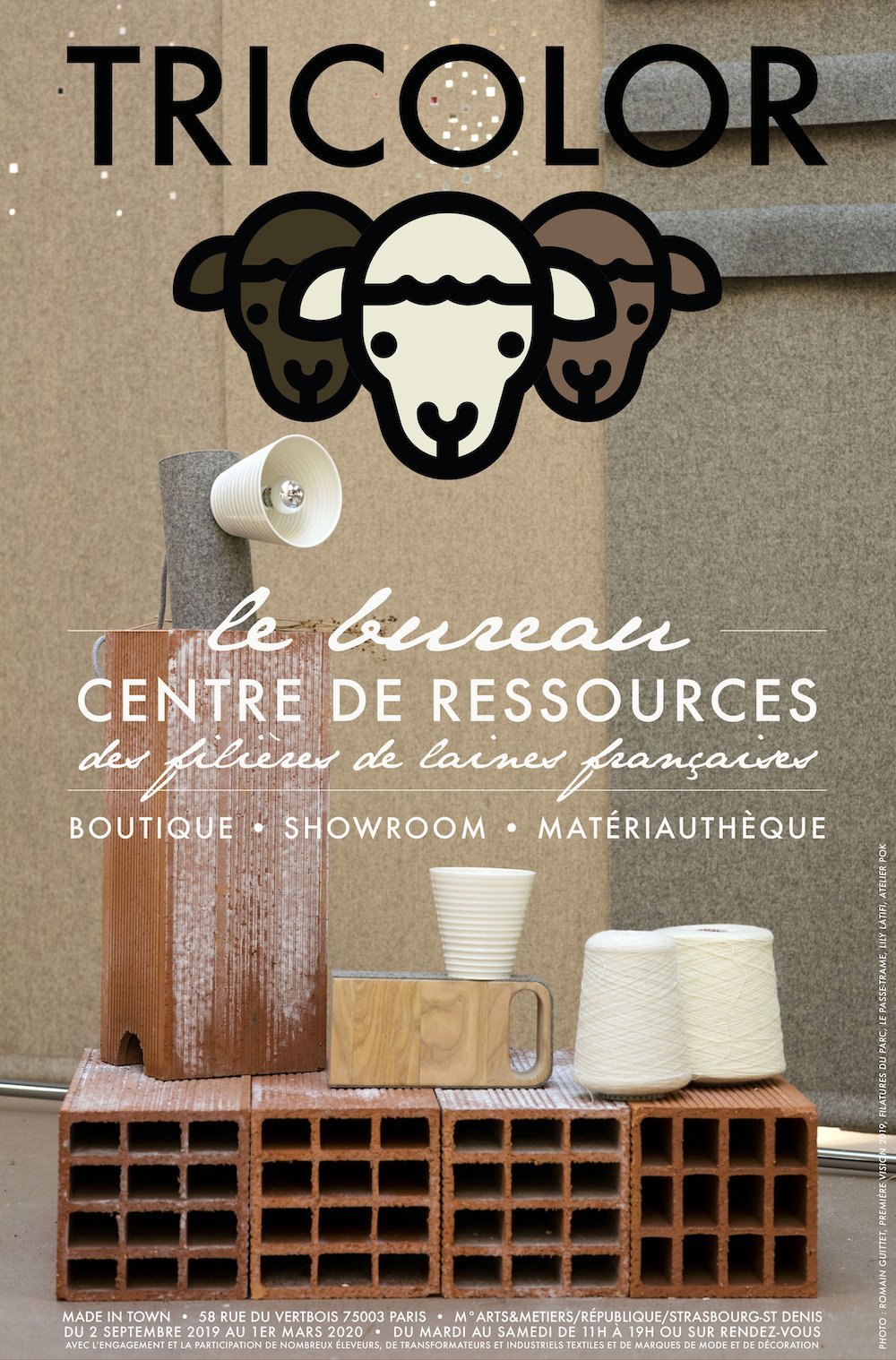 Le Bureau TRICOLOR <br /> Center of ressources of the French wool sector