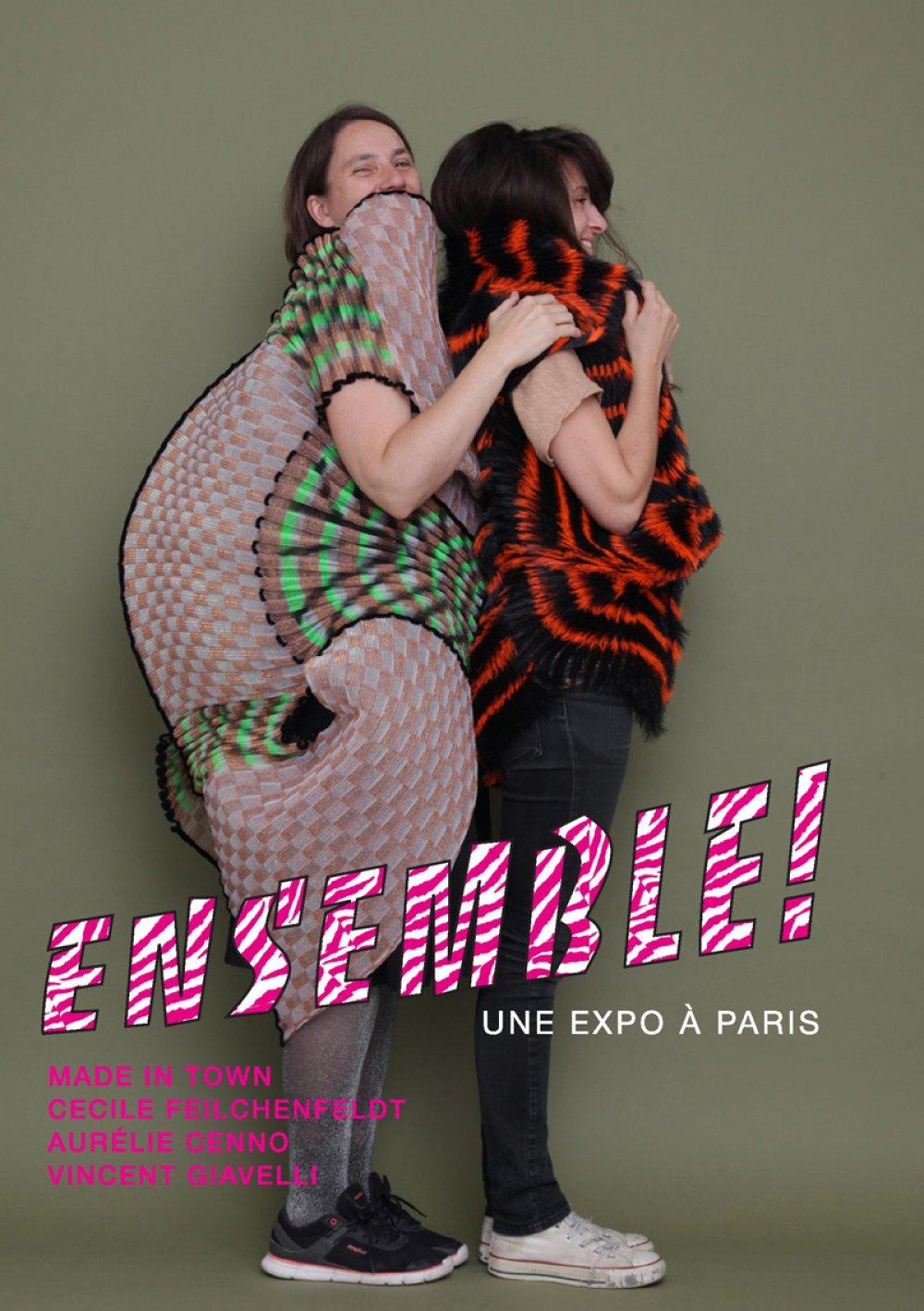 Invitation exposition Ensemble Cécile Feilchenfeldt